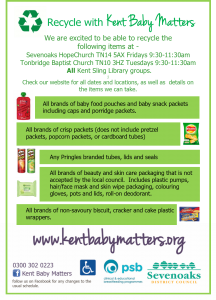 Recycling image for West Kent